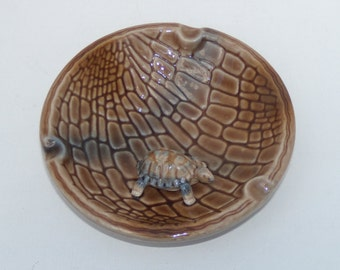Wade Turtle Ashtray Small Turtle Trinket Dish