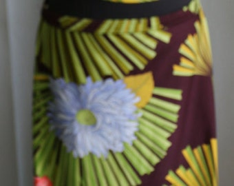 Vintage 1970's Halter Top and Skirt/Dress