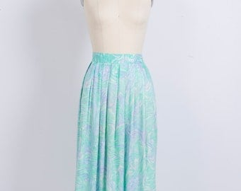 Marble A-Line Skirt