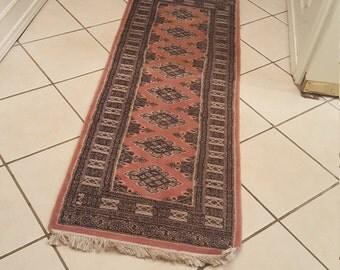 vintage woven runner rug