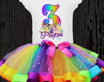 Disney Princess Birthday Tutu - Disney Princess Tutu