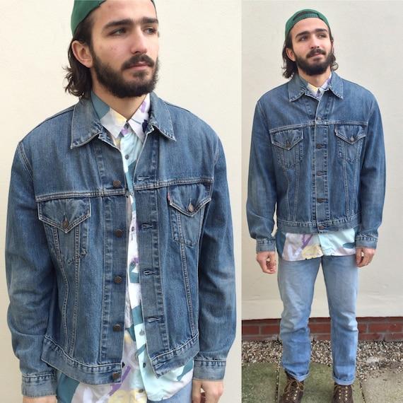 Vintage 90s Levi's denim jacket. 70500 size XXL xl large