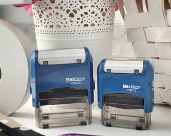 Try Harder/ Please Sign/ Awesome/ Incomplete : Self-Inking Stamps for Teachers