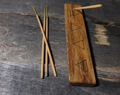 Air Fire Earth Water (Wicca) Incense Stick Holder