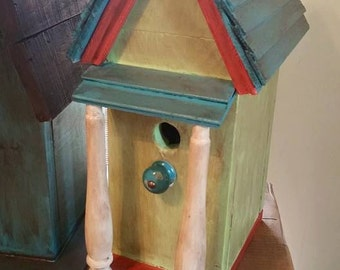 Beautiful Birdhouses will add decor inside or out.