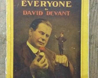 VINTAGE Edition - Tricks for Everyone by David Devant 1925 - Magic - Magician - Tricks - Retro