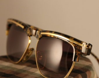 Vintage 80's Sunglasses Tortoise Shell by Krizia made in Italy