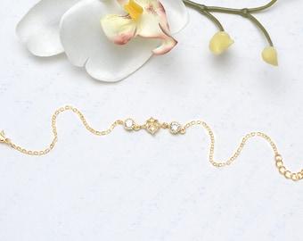 Bracelet mariée Cristal-Loubna-French jewelry-Bracelet mariée-Bijoux mariage-Bridesmaid Gift-Bridesmaid jewelry-Bridal jewelry-Bijoux mariée