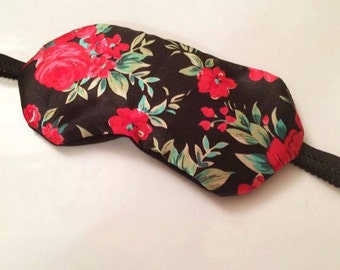 Silky Floral Eco-friendly Sleep Mask