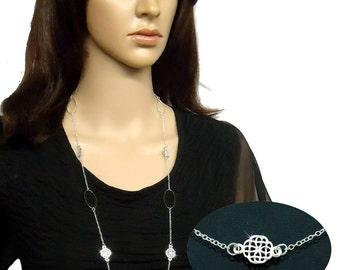 """Celtic Elegance 34"""" Necklace (#JPEW5948)"""
