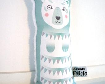 Little soft toys polar bear, scandinavian design
