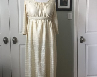 Jane Austen Regency Gown by Iblamejanetoo - size 10-12