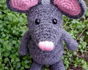 Crochet mice doll, amigurumi mouse toy,  crochet mouse doll, stuffed mouse toy, Amigurumi mice