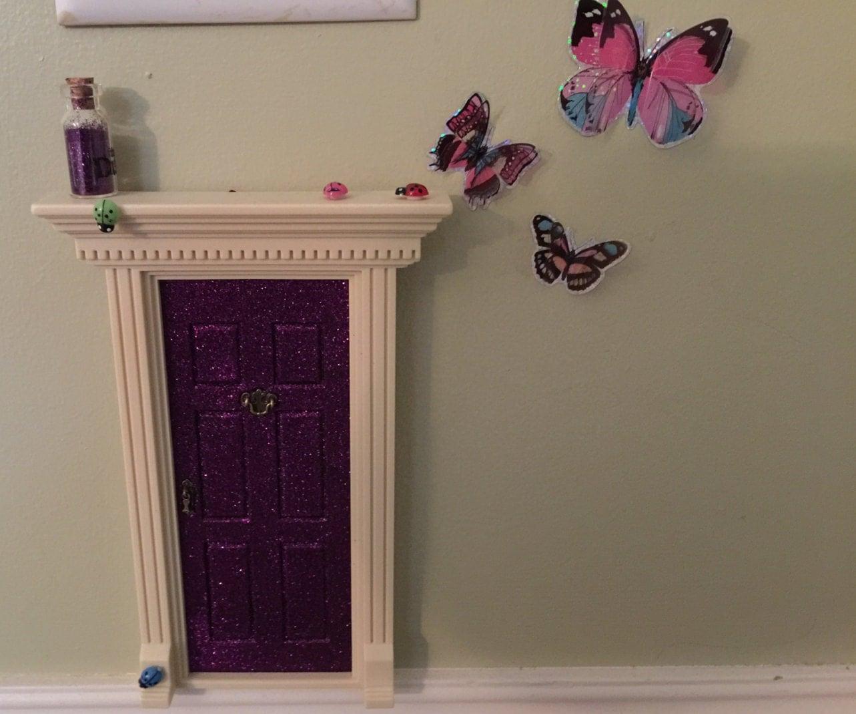 Fairy door accessories 3 fairy butterflies and 3 little for Little fairy door accessories
