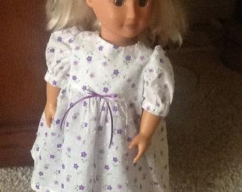 "18"" Doll Dress -- fits American Girl dolls"
