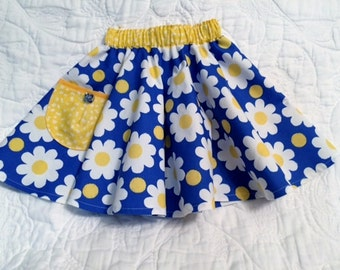 Baby Skirt  / Toddle Circle Skirt / Baby Clothes /Size 2