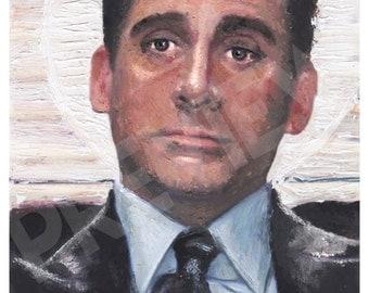 Michael Scott - The Office Oil Painting Print