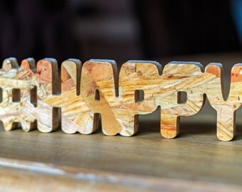 Hashwood-wooden letters. Express your feelings with our Hashwood. Ideal for gift, wedding, or party favors