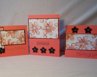ASSORTED GREETING CARDS -set of 8