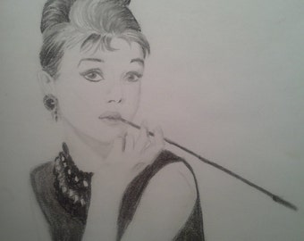 Hepburn's black and white cinema