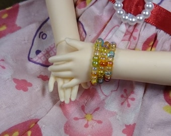 "Bracelet set for 1/6 BJD YOSD - ""Colorful"""