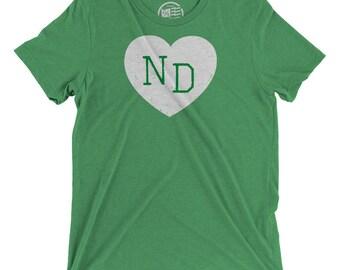 North Dakota Love Vintage T-Shirt