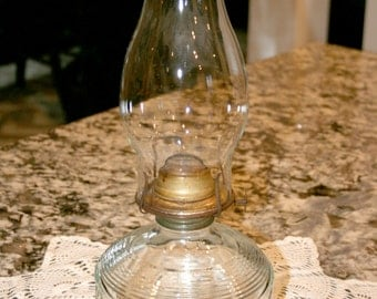 Kerosene Oil Lamp//Hurricane Lamp//Vintage Oil Lamp