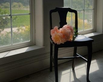 Vintage Wooden Vanity Chair M Friedman & Co. 1909-1930