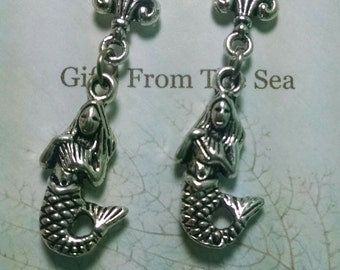 1516E Mermaid Earrings