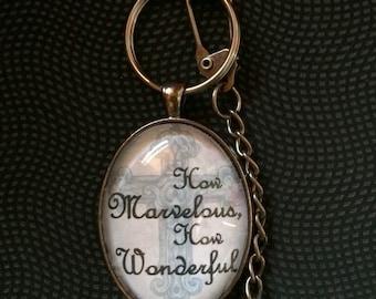 Keychain- How Marvelous