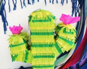 "Cactus Piñata 23"" | Fiesta Party | Cactus Theme | Wedding Pinata"