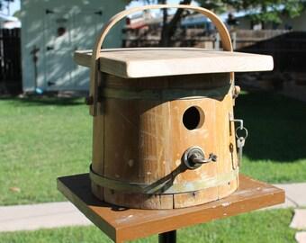 Bucket Birdhouse