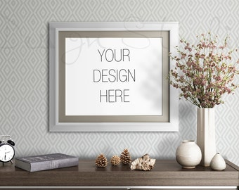 frame mock up, BUY3 PAY2, living room mock up, Empty Frame , Styled Stock Photography,Product Background Mock up ,