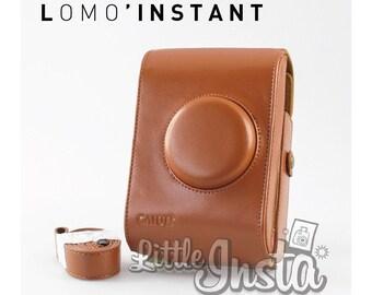 Brown Lomo Instant case