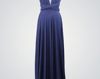 Royal Blue Infinity Dress,Convertible Dress,Long Infinity Dress,Blue Infinity Dress,Wrap Infinity Dress,Party Dress