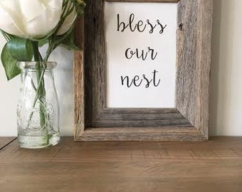 Bless Our Nest Print - Digital Download