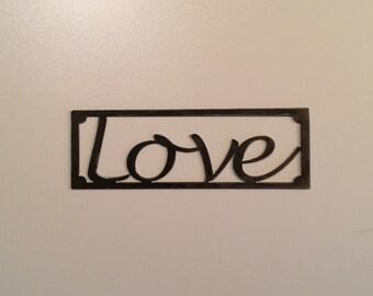 Love (10x3 inches)