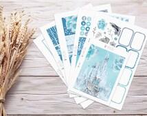 Planner Stickers   Weekly Kit - Ice Queen   Erin Condren Vertical