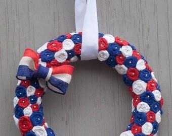 july 4th wreathEtsy