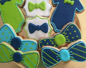Custom decorated cookies to match your theme