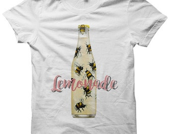 Lemonade T-shirt Lemonade Shirts #Lemonade Bee Shirts Ladies Tops Tees Mens Tee Shirts Plus Sizes Cute Shirts Cheap Gifts Concert Tees Party