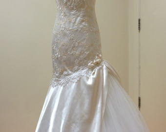 Gwendolyn Bridal Gown in Ivory & Apricot