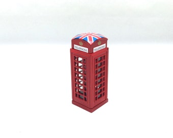 London Phone Booth miniature pencil sharpener,die cast miniature,London phone booth model,toy pencil sharpener,London souvenir