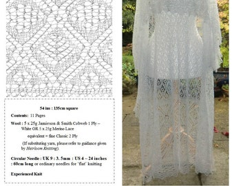 The Rosebud Shawl ~ Heirloom Knitting pdf ~