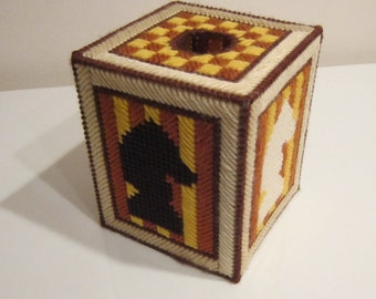 Chess Tissue Topper