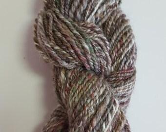 50 yards Hand spun yarn