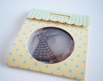 Sticker stickers flake pattern photo, film frame 35 parts //die cut stickers / / cut stickers / / Scrapbook / gift package / / polaroid