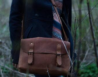 Leather handbag, laptop bag, leather crossbody bag, leather shoulder bag,  leather messenger bag, women leather bag, leather handbag women