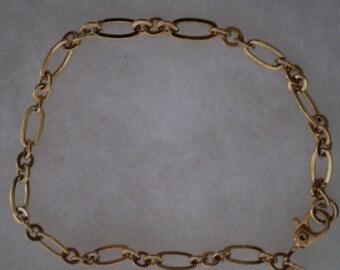Vintage Monet Gold Bracelet