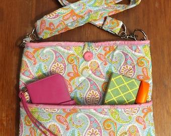 Crossbody purse - Paisley